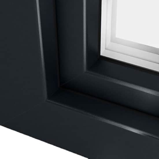 Couleur ral 7016 gris anthracite pour fentre porte fentre for Portillon pvc gris anthracite