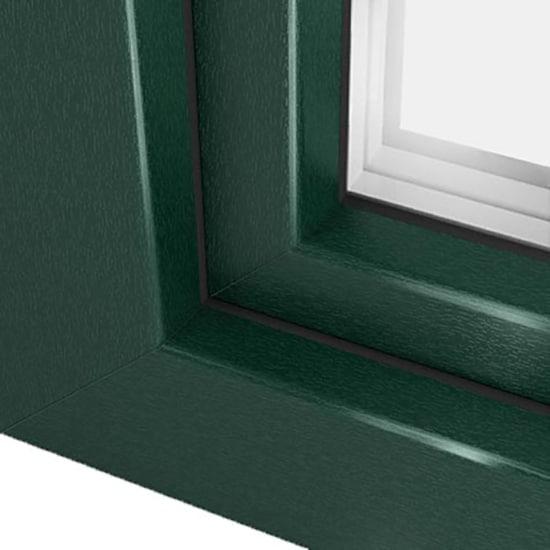fen tre pvc vert mousse ral 6005 une couleur apaisante. Black Bedroom Furniture Sets. Home Design Ideas