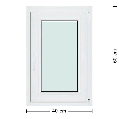 Fen tre 40x60 menuiserie pratique conomique sur mesure for Dimension fenetre standard pvc