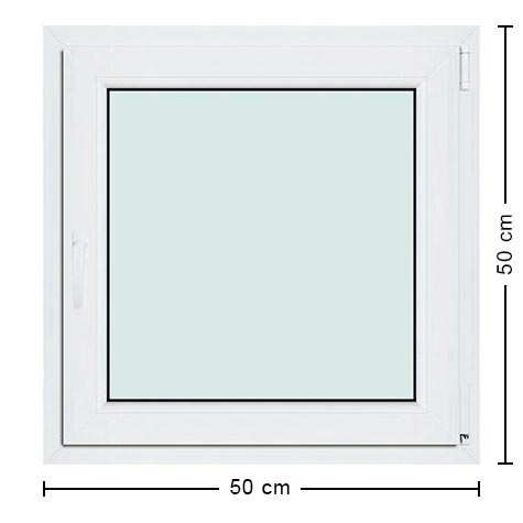 Fenetre pvc standard for Dimension fenetre