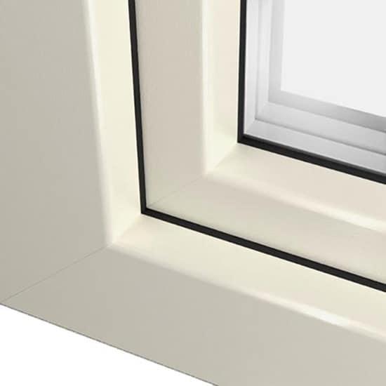 Fenêtre PVC crème ral 9001