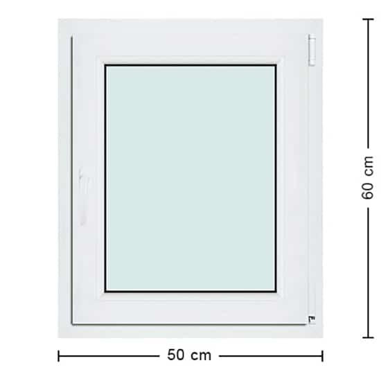 Fenêtres PVC de dimensions : 50x60cm