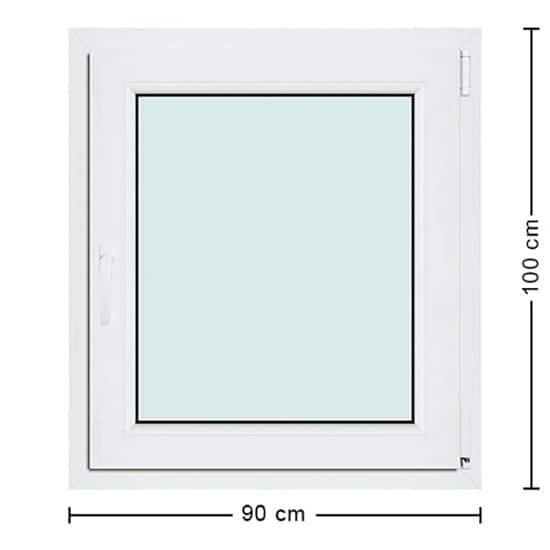 Fenêtres PVC de dimensions : 90x100cm