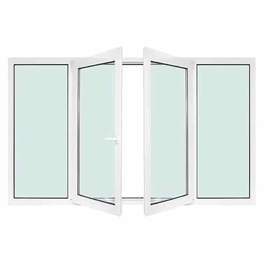Fenêtres PVC avec différents modèles 4 vantaux