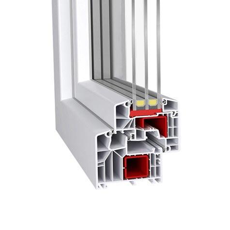 Fenêtres PVC profilés haut de gamme