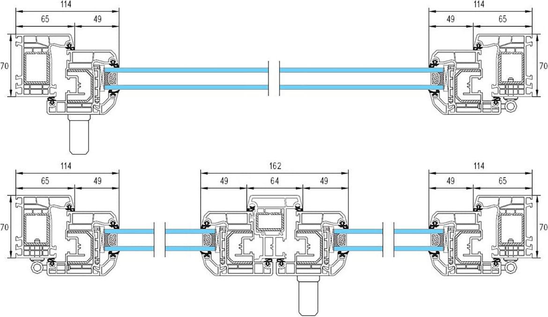 Fen tre standard en pvc menuiserie de qualit bas prix for Fenetre pvc standard prix