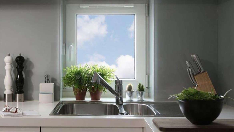 Fenêtres PVC avec ventilation pour une aération parfaite
